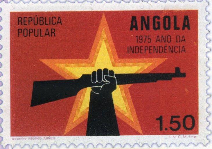 Známka Angola