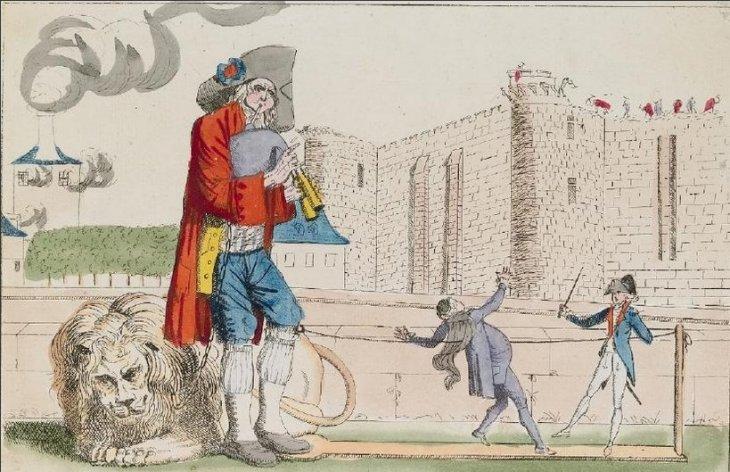 1789, barevný lept, Muzeum dějin Paříže Carnavalet